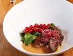 Photo Foie gras poêlé, brunoise de pêche, vinaigre de cidre - Le Bistroquet à la Une