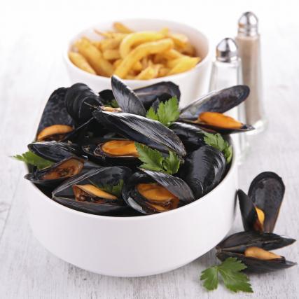 Week-end moules frites du 16 au 18 Novembre. 12,90 euros !