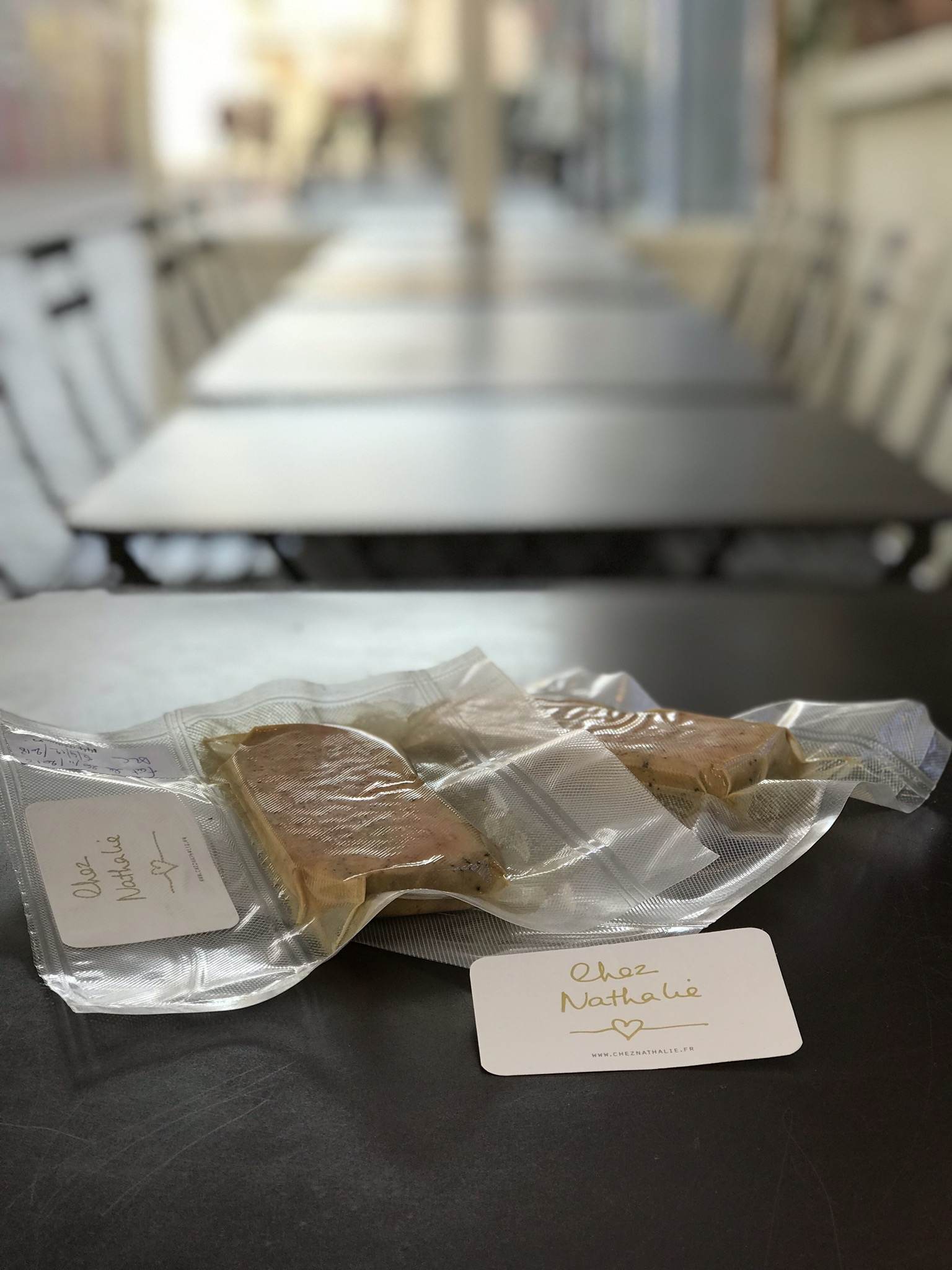 NOËL: Vente de foie gras maison Chez Nathalie