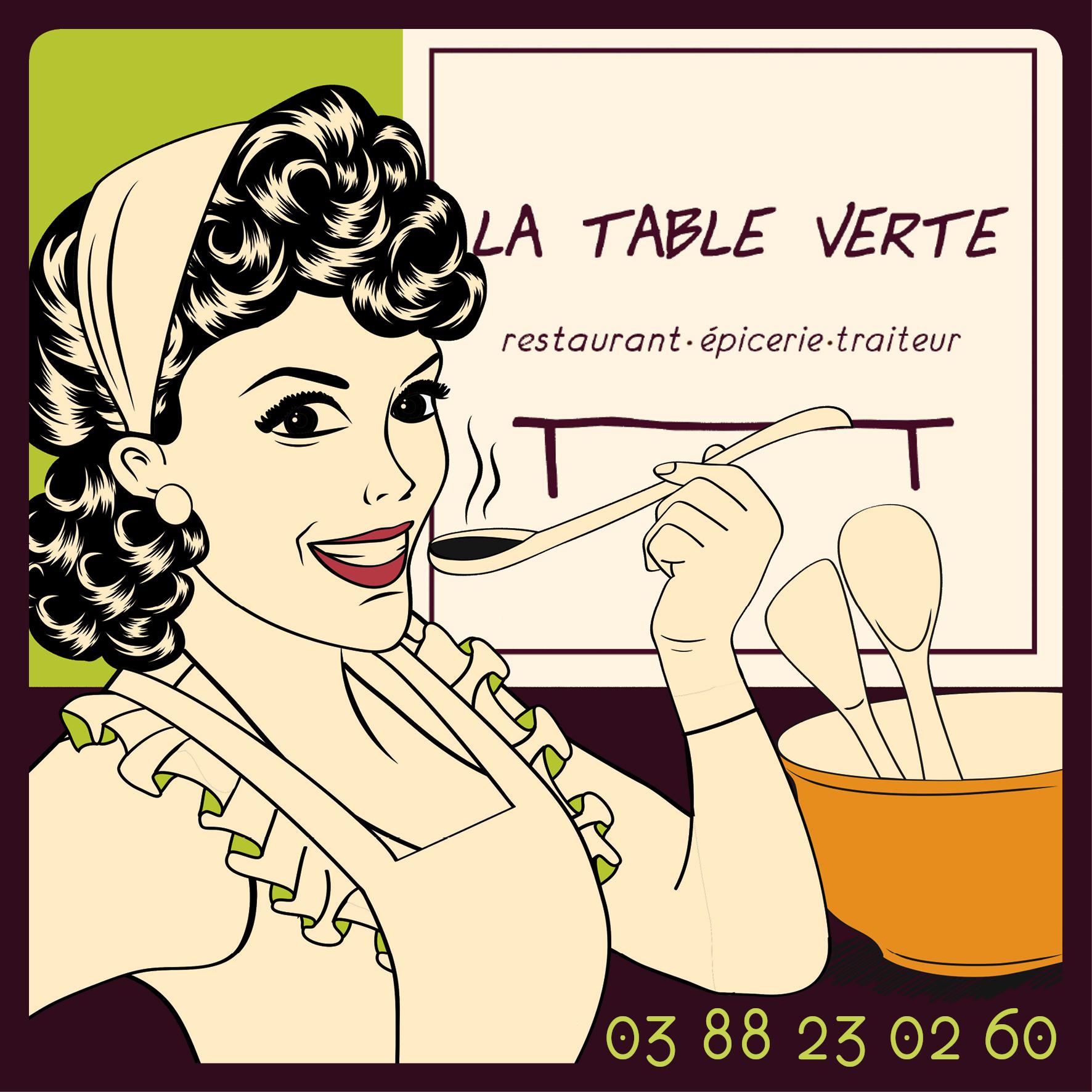 Logo LA TABLE VERTE
