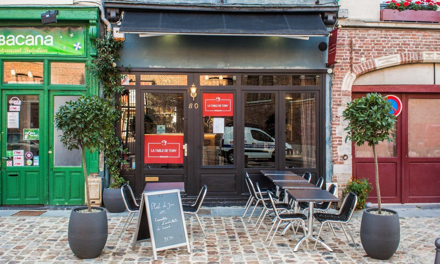 Photos Atmosphere Dishes La Table De Tony Lille