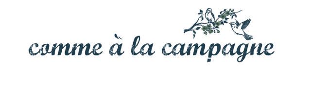 Logo Comme à la campagne