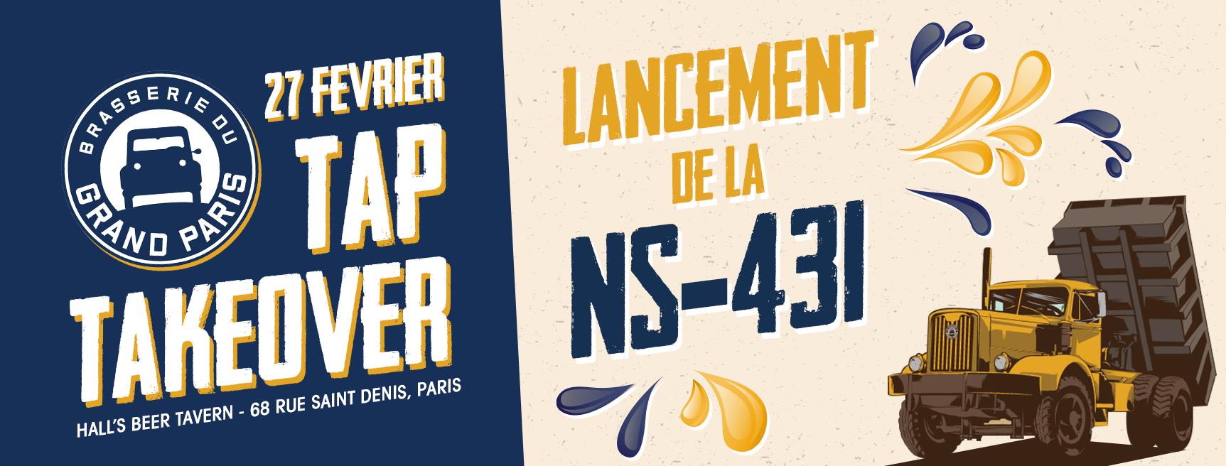 Tap Takeover - Brasserie Grand Paris