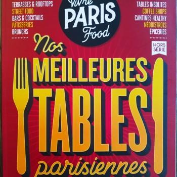 """VIVRE PARIS - """"Les meilleures tables parisiennes"""""""