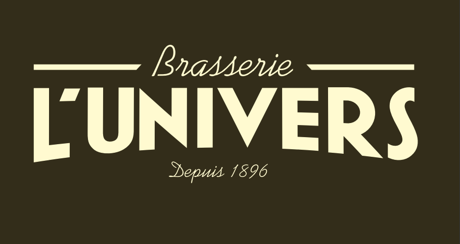 Logo CAFE BRASSERIE DE L UNIVERS