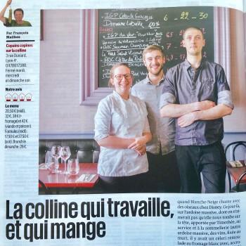 La tribune : Le restaurant de la semaine