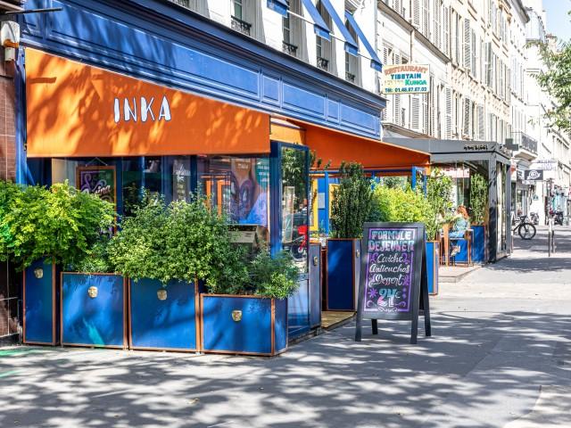La Mezcaleria Paris La terrasse