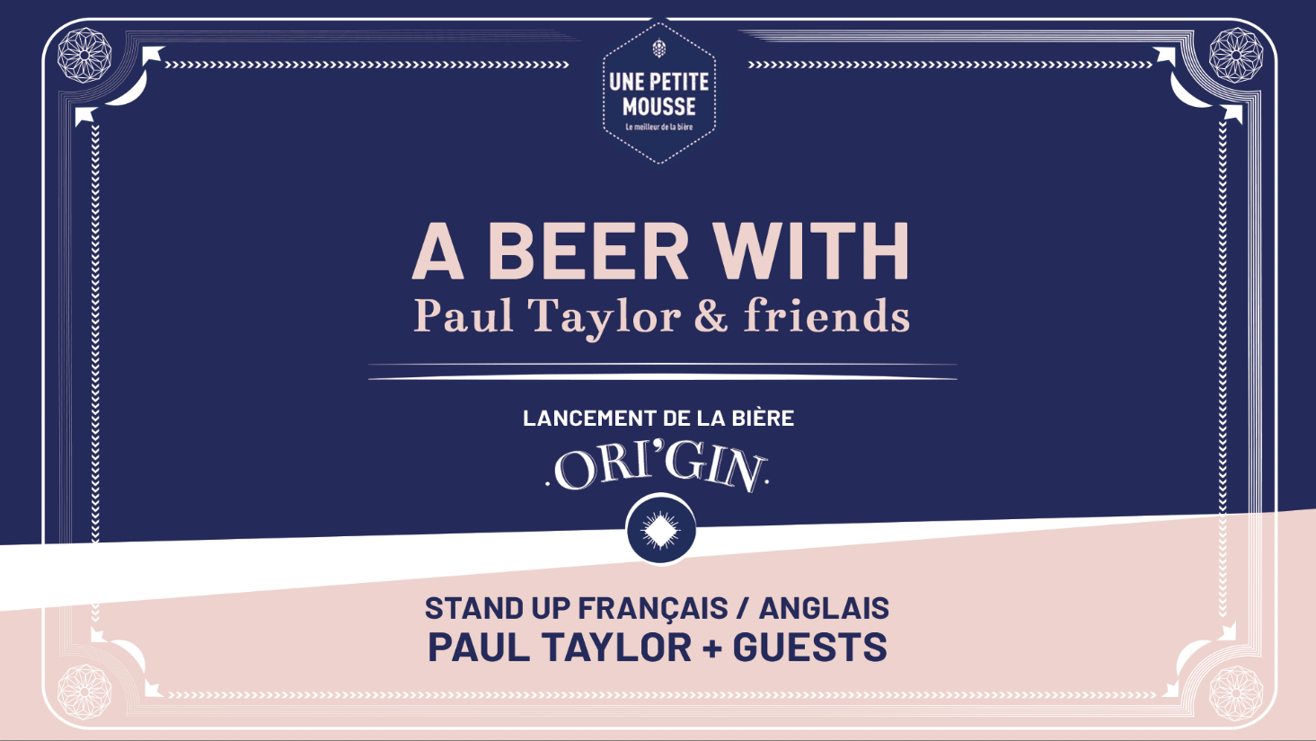 Stand-Up Comedy Show · Paul Taylor