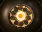 Photo Polenta Taragna truffée, parmesan et jaune coulant - Le Sergent Recruteur