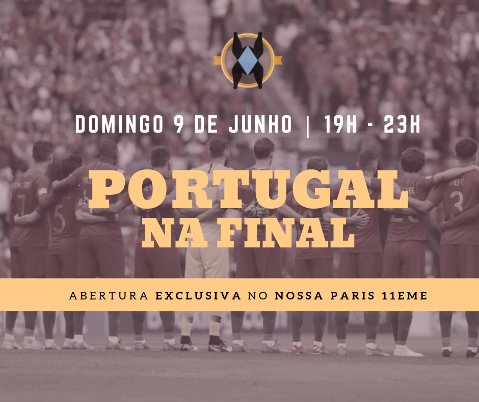 Transmissão da Final - Portugal VS Holanda