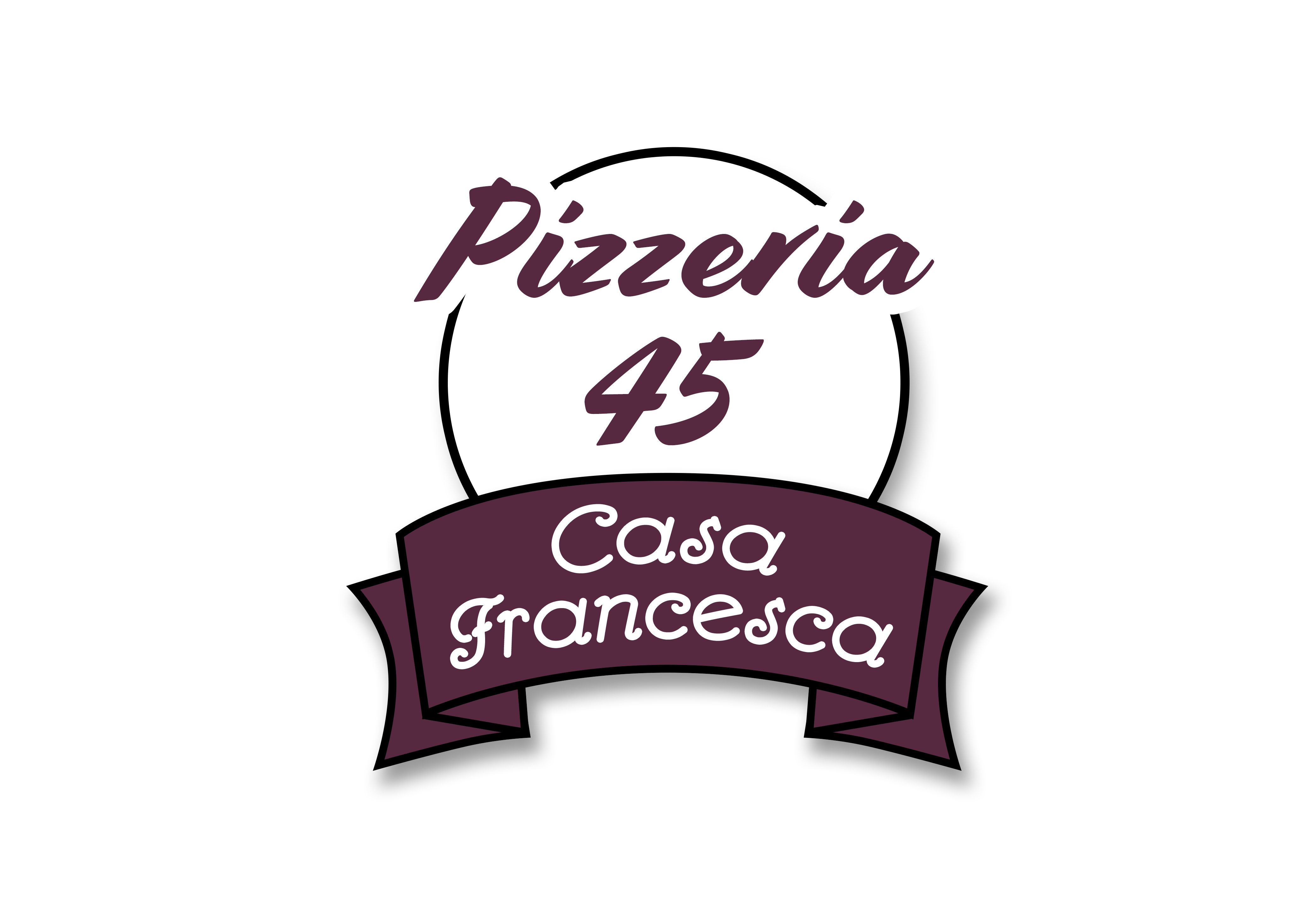 Logo Pizzeria 45 - Casa Francesca