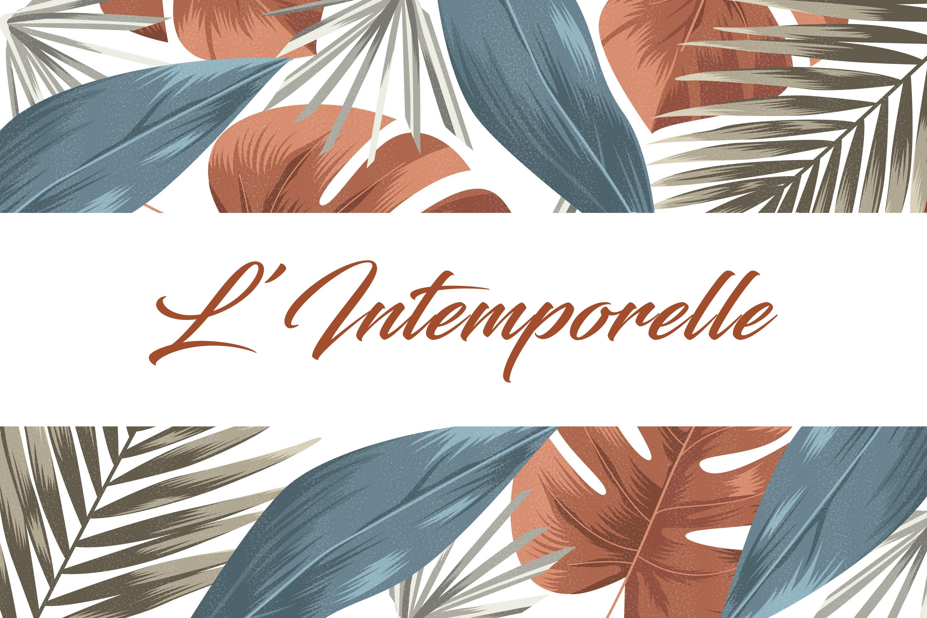 Logo L'Intemporelle