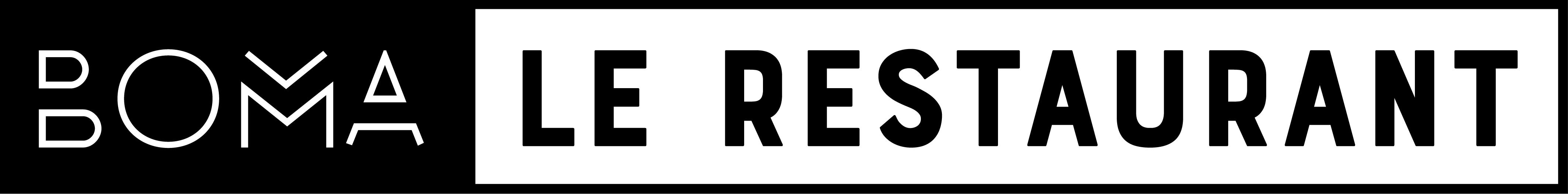 Logo BOMA LE RESTAURANT