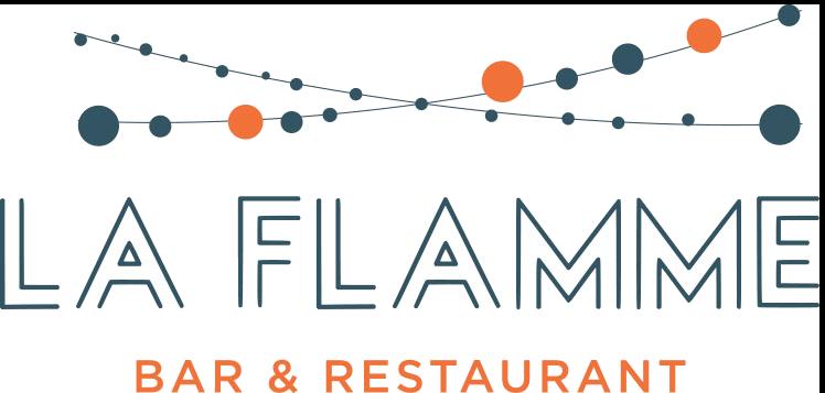 Logo La Flamme - Brasserie Maison