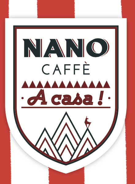 Logo Le Nano Caffè - Megève <br> Trattoria di Montagna