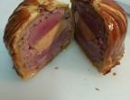 Photo Tourte de magret de canard et foie gras, salade vert - Restaurant Will