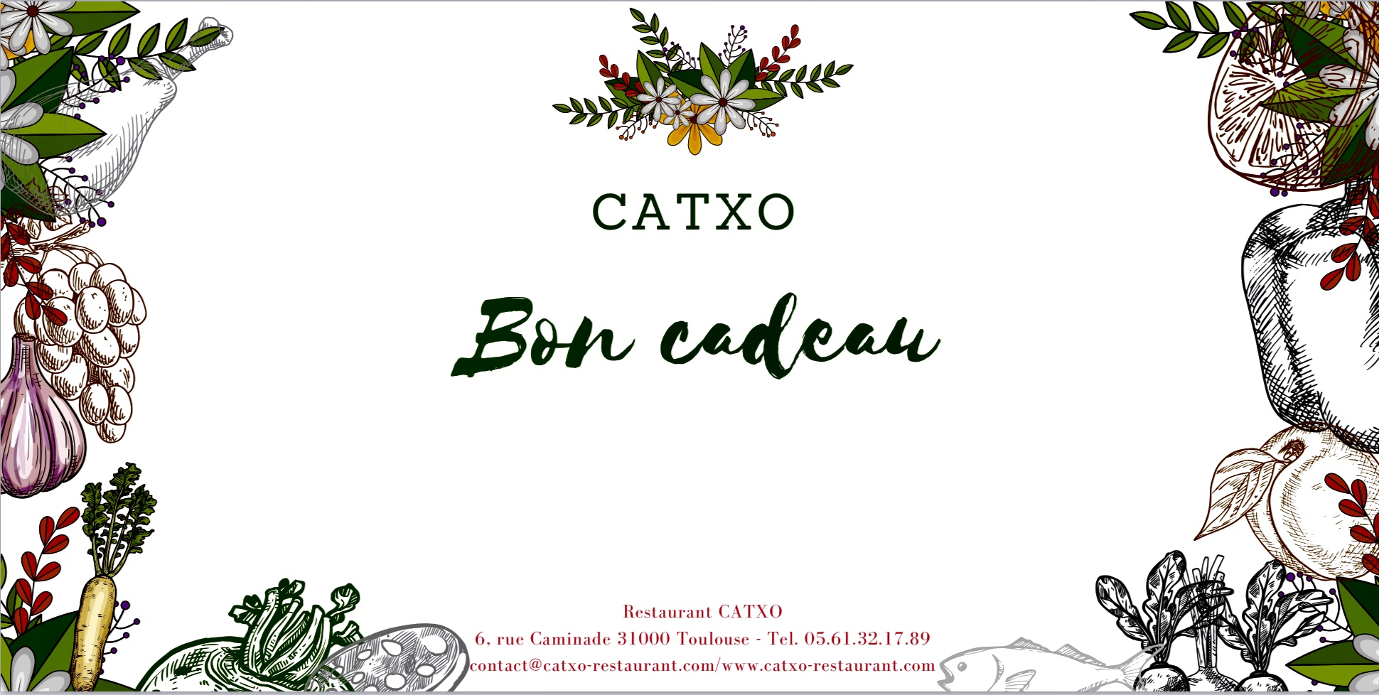 Offrez CATXO à qui vous plaira !