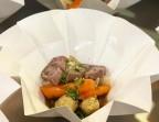 Photo Pot au feu sauvage, paleron de bœuf salers, légumes d'hiver, bouillon légèrement parfumé au gingembre  - Cantine Sauvage