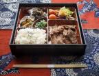 Photo FORMULE BENTÔ PORC SHÔGAYAKI (porc sauté avec une sauce au gingembre) - AtsuAtsu