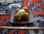 Photo 4 Pcs Takoyaki Sauce Oroshi-Ponzu (Sauce Ponzu (sauce soja + vinaigre + jus d'agrumes japonais) & radis blanc râpé) - AtsuAtsu