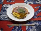 Photo Okonomiyaki façon Hiroshima à l'encornet - AtsuAtsu