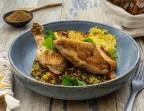 Photo M- Suprême de volaille fermière au thym -Farm chicken suprême with thyme - Jardin & Company