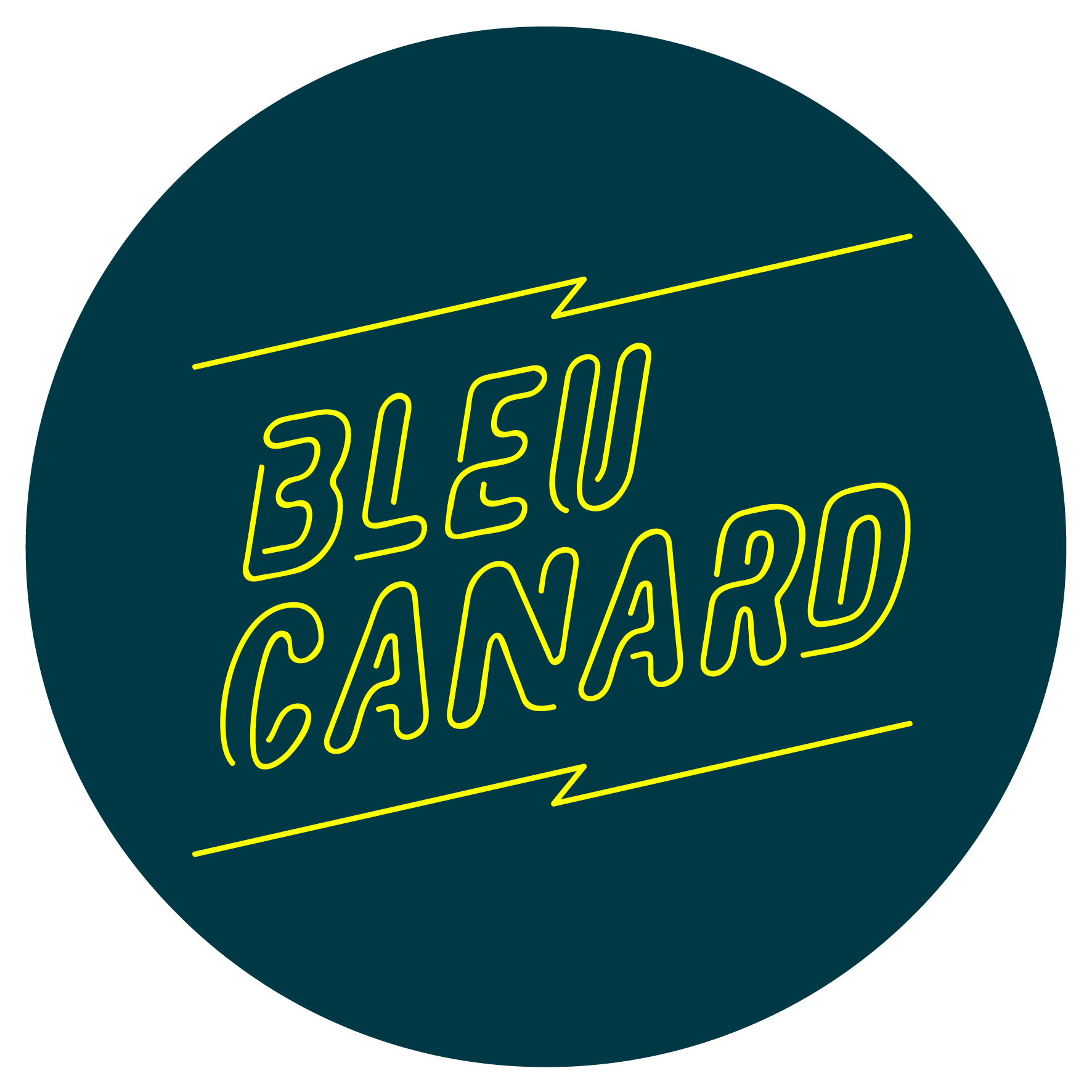 Logo BLEU CANARD