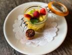 Photo Salade de Fruits de Saison - Café de la Place - Saint Rémy