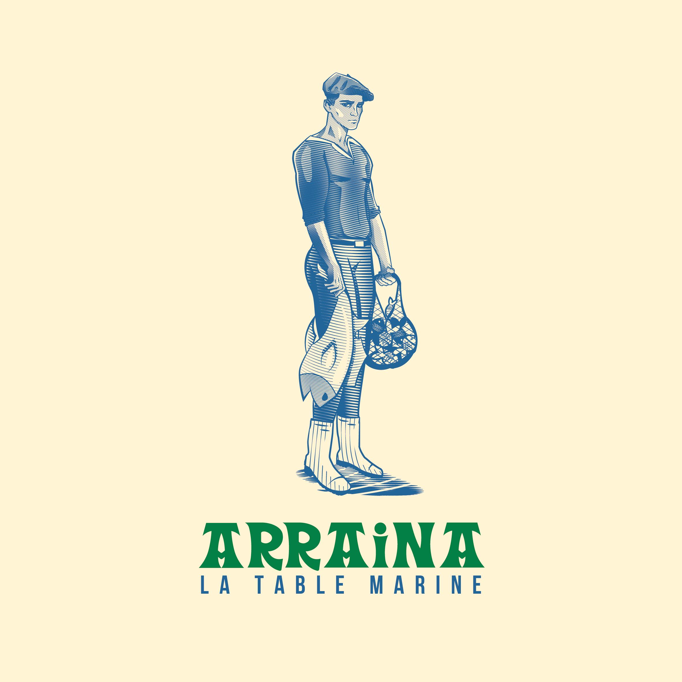 Logo ARRAINA - La Table Marine