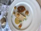 Photo Foie Gras mi-cuit Normand, gelée et marmelade de mirabelles - Restaurant Le Saint Pierre