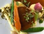 Photo Agneau confit de 7 heures, jus réduit,  mousseline de pomme de terre au beurre salé,  légumes de saison - Restaurant Le Saint Pierre