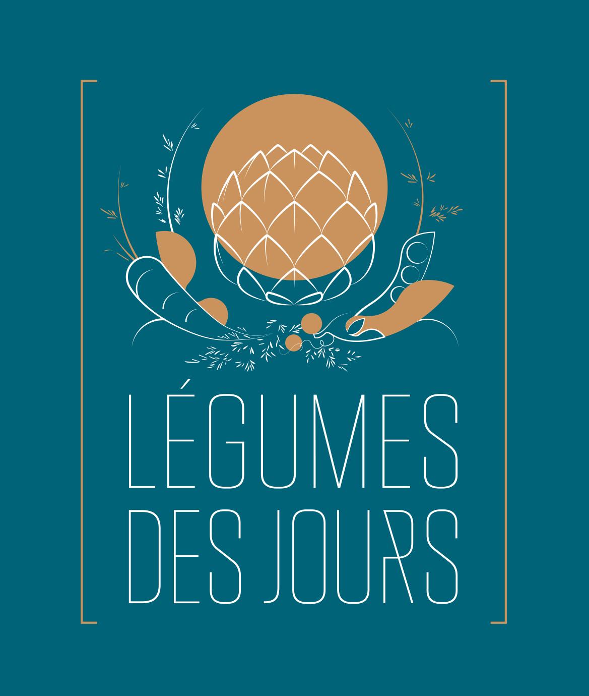 Logo LÉGUMES DES JOURS