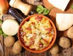 Photo Tartiflette / salade - LA CABANE