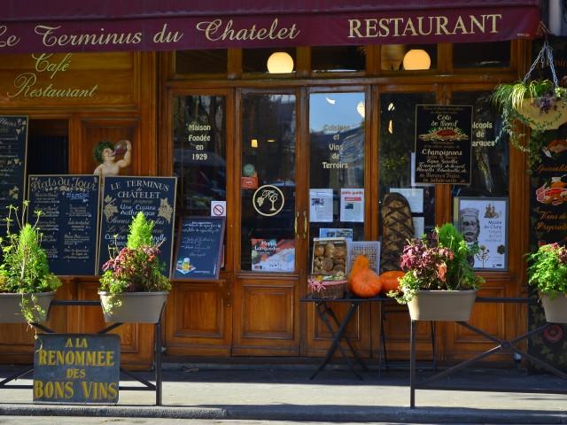 Au Terminus du Châtelet - SITE OFFICIEL