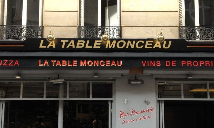 Photo La Table Monceau