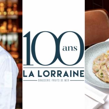 Les 100 ans de La Lorraine célébrés avec Christopher Coutanceau