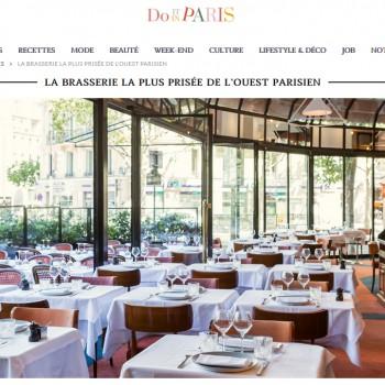 La brasserie la plus prisée de l'Ouest parisien !