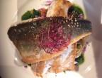 Photo Steack de thon au poivre pommes grenailles au chorizo - Le Cafe Dumas