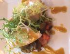 Photo Steack de thon à la Plancha et ratatouille orientale - Le Cafe Dumas