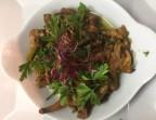 Photo Gratin de pleurottes au beurre d'herbes - Le Cafe Dumas