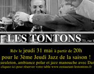 Les Tontons en session Jam Jazz !