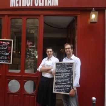 Le Blog de Gilles Pudlowski : « Métropolitain (4e): gai et bon! »