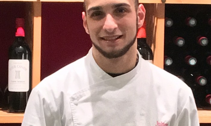 Le chef de cuisine Julien RODRIGUES