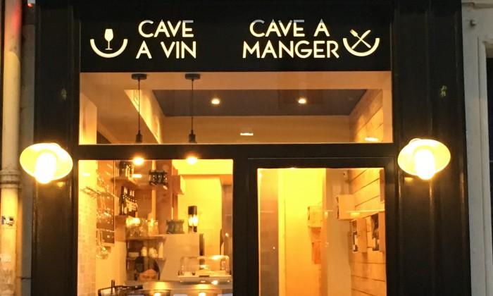 AUX DIVINS Cave à vin et à manger