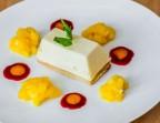 Photo Le Cheesecake à la vanille bourbon, salade de mangue  - L'Ange 20