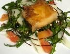 Photo Croustillant de cabécou du Périgord chaud / Salade vertes / cruditées / pignons de pin - L'Ange 20