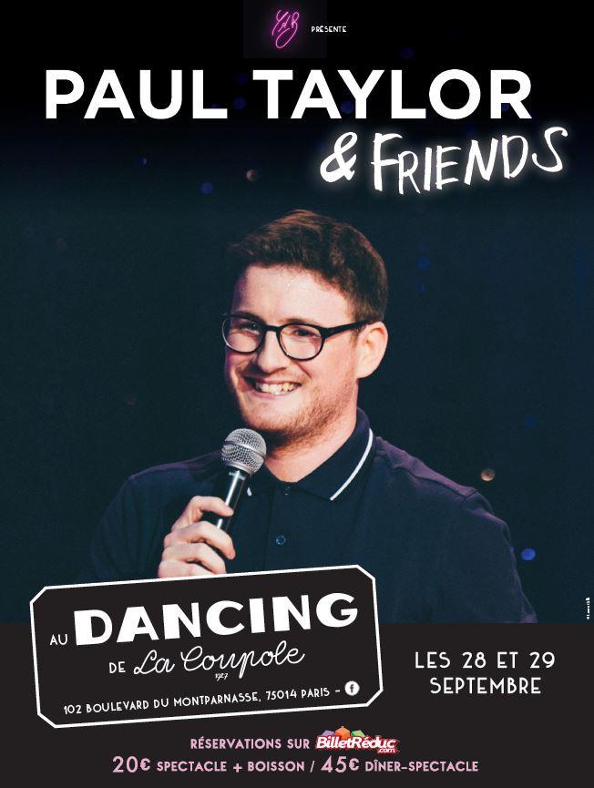 PAUL TAYLOR & FRIENDS