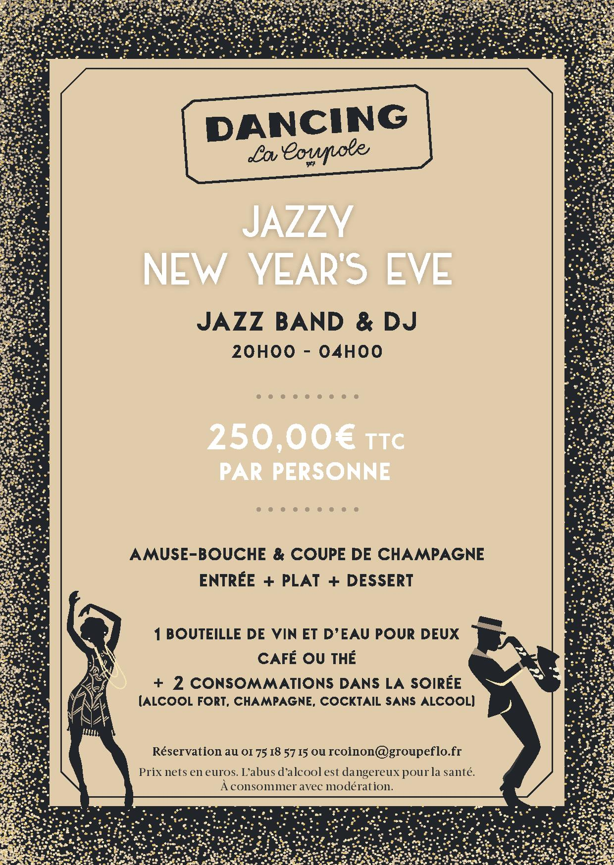 JAZZY NEW YEAR AU DANCING DE LA COUPOLE