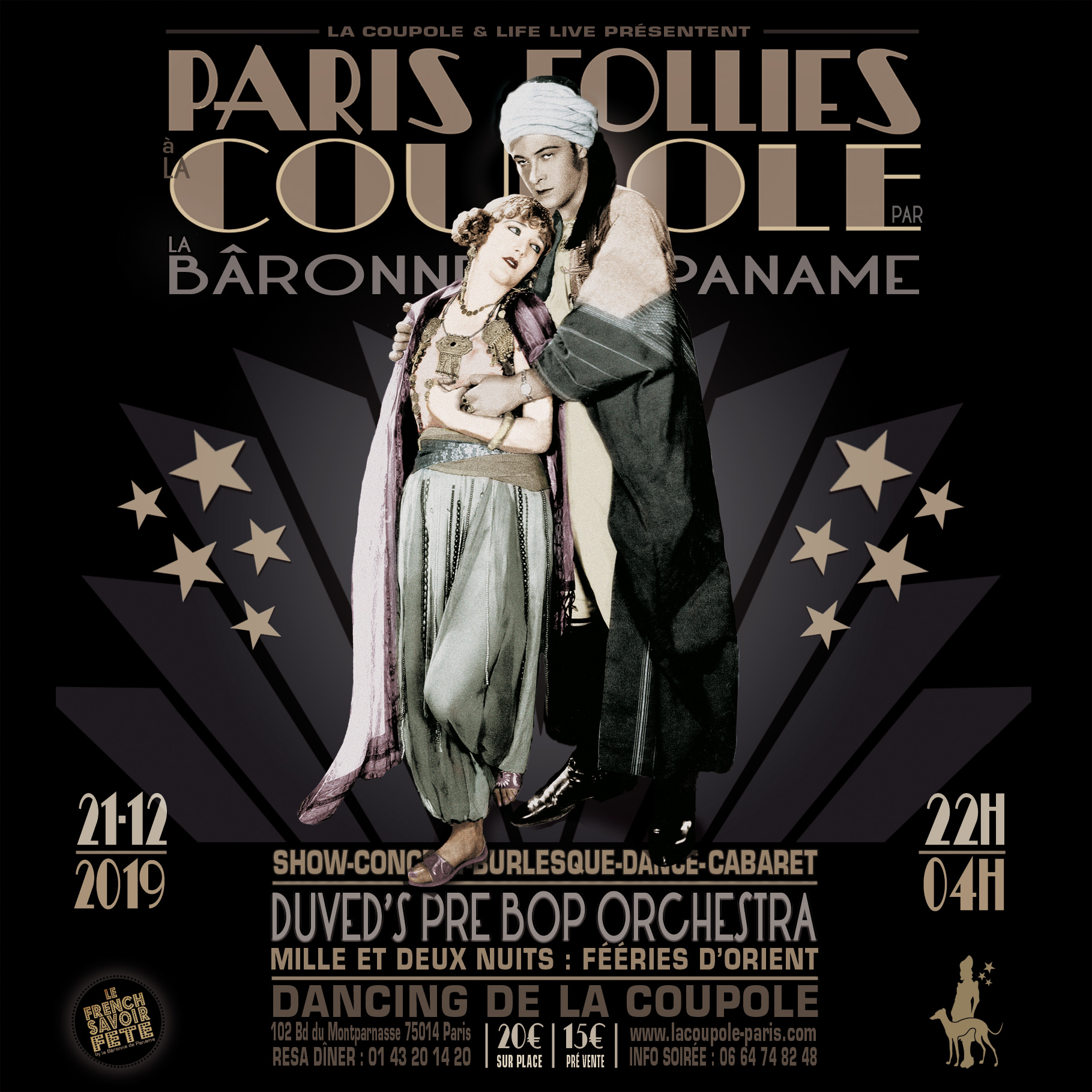 Paris Follies 21 décembre 2019