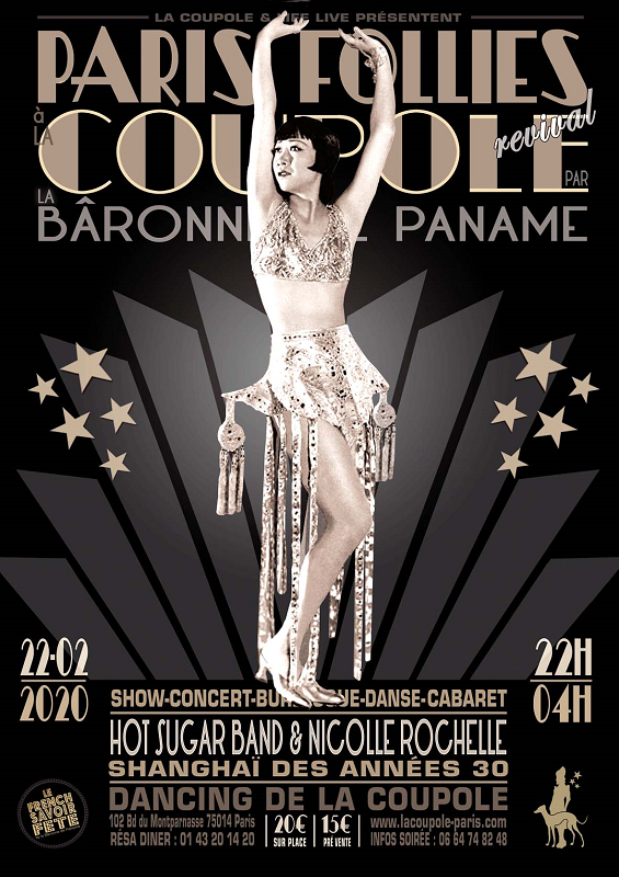 ★ DANCING DE LA COUPOLE : PARIS FOLLIES BALLROOM ★